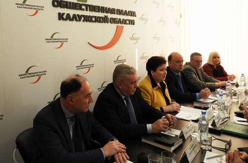 В Общественной палате Калужской области состоялась встреча по избирательным правам граждан